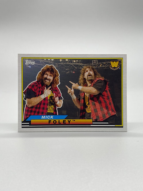 WWE Topps 2018 Big Legends Mick Foley #BL-34