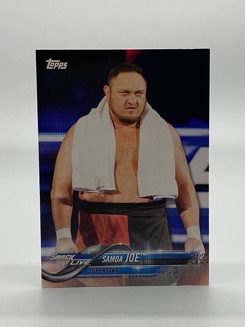 WWE Topps 2018 Then Now Forever Samoa Joe #170