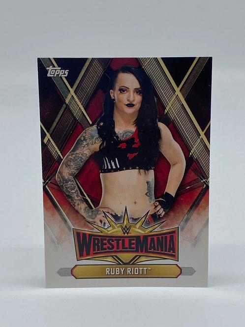 2019 Topps WWE Road to Wrestlemania Ruby Riott #WM-49