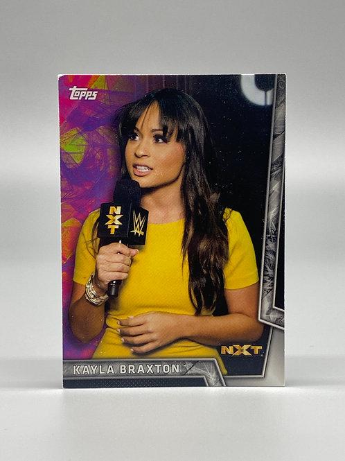 2018 Topps WWE Women's Division Kayla Braxton #39