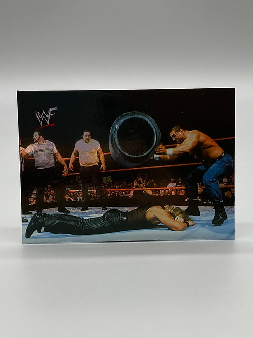 WWF Comic Images 2000 British Bulldog #35 NM Wrestling Trading Card