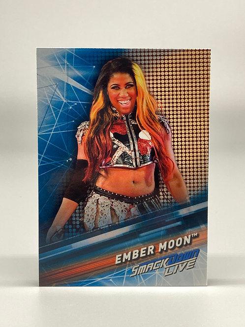 2019 Topps WWE Smackdown Live Ember Moon #22