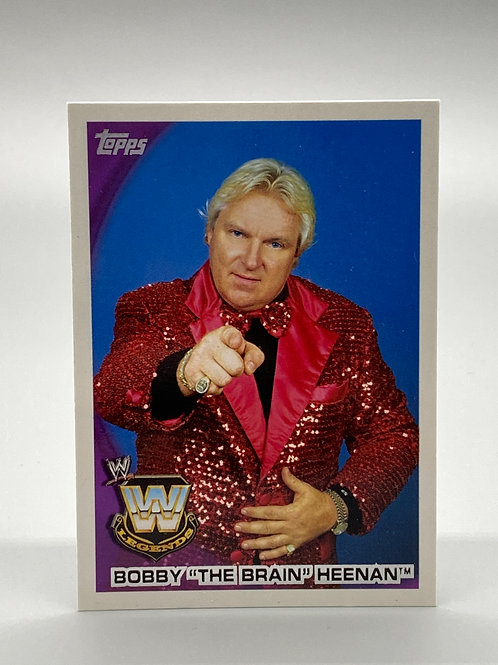 "WWE Topps 2010 Bobby ""The Brain"" Heenan #91"