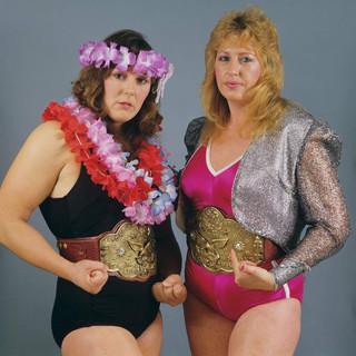 """The Glamour Girls"" Leilani Kai & Judy Martin"