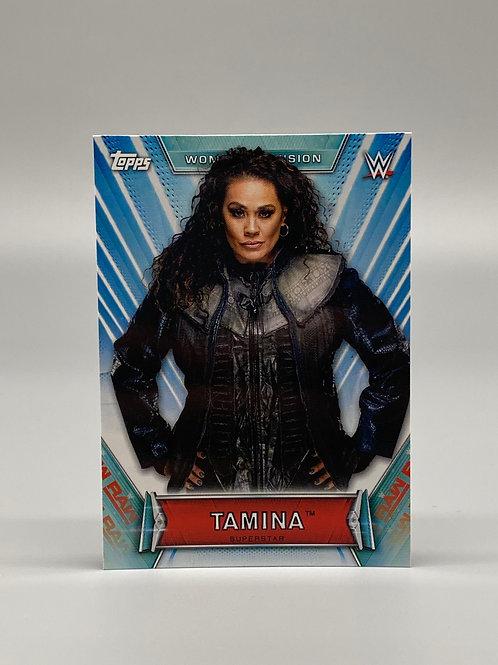 2019 Topps WWE Women's Division Tamina Snuka #15