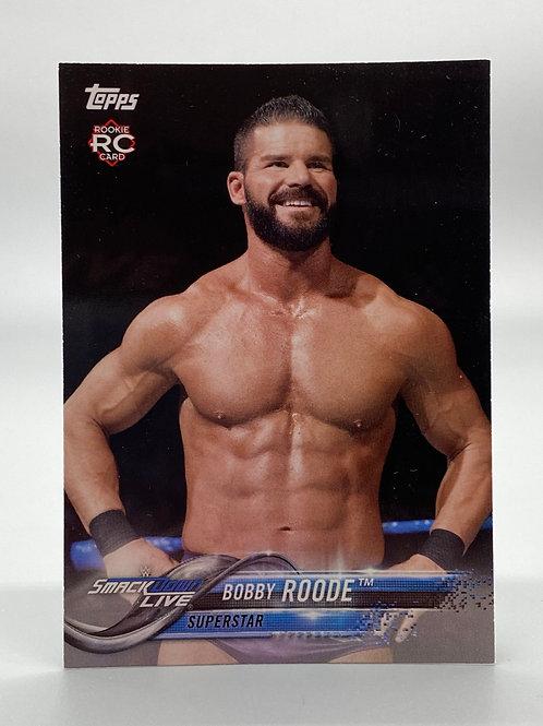 WWE Topps 2018 RC Bobby Roode #14 NM Wrestling Trading Card