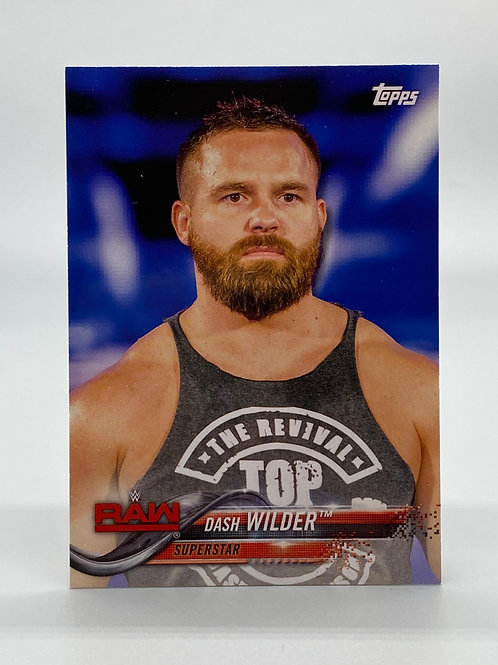WWE Topps 2018 Then Now Forever Dash Wilder #120 NM Wrestling Trading Card