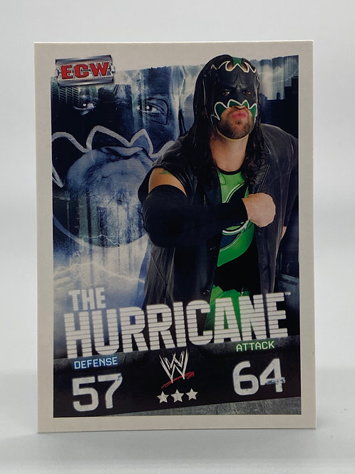 WWE Topps 2009 Slam Attax Evolution The Hurricane NM Wrestling Trading Card