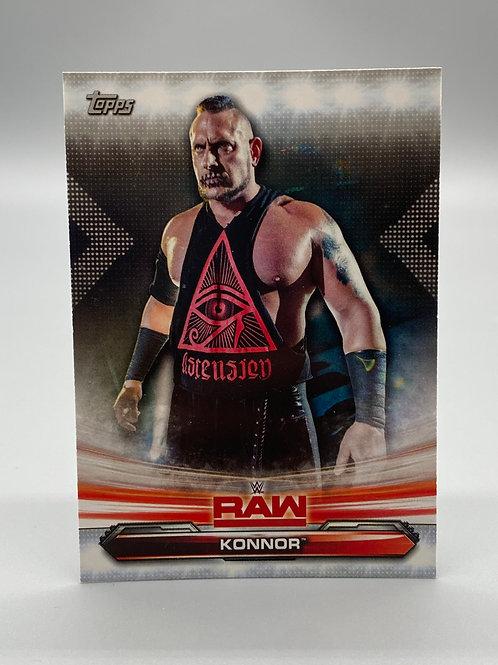 WWE Topps 2019 Raw Konnor #43 NM Wrestling Trading Card