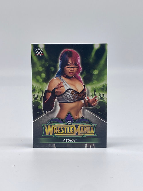 2018 Topps WWE Road to Wrestlemania Asuka #R-16