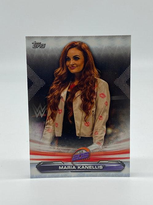 2019 Topps WWE Raw Maria Kanellis #82
