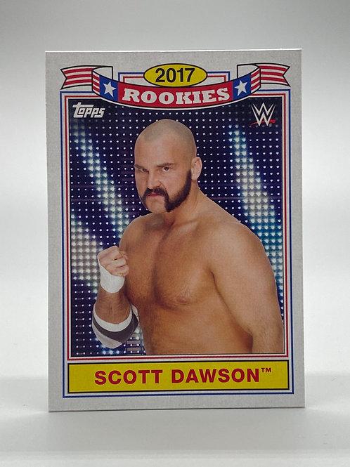 WWE Topps 2018 Heritage Top 10 Rookies Scott Dawson #TR-8