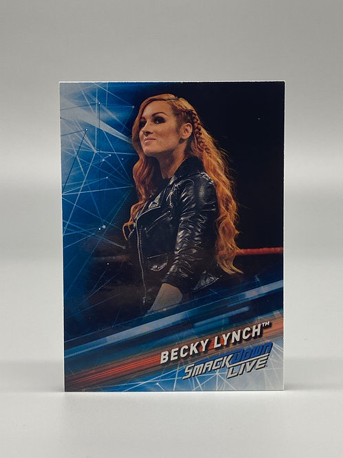 2019 Topps WWE Smackdown Live Becky Lynch #8