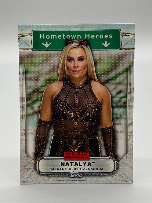 WWE Topps 2019 Hometown Heroes Natalya #HH-26 NM Wrestling Trading Card