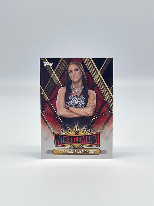 2019 Topps WWE Road to Wrestlemania Stephanie McMahon #WM-10
