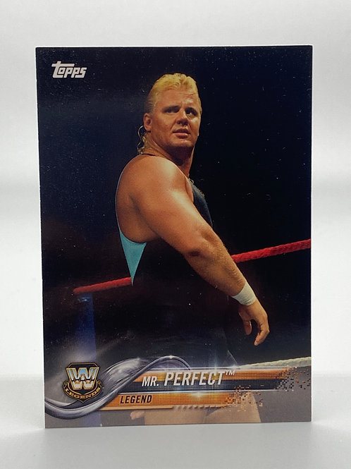 WWE Topps 2018 Then Now Forever Mr. Perfect #197