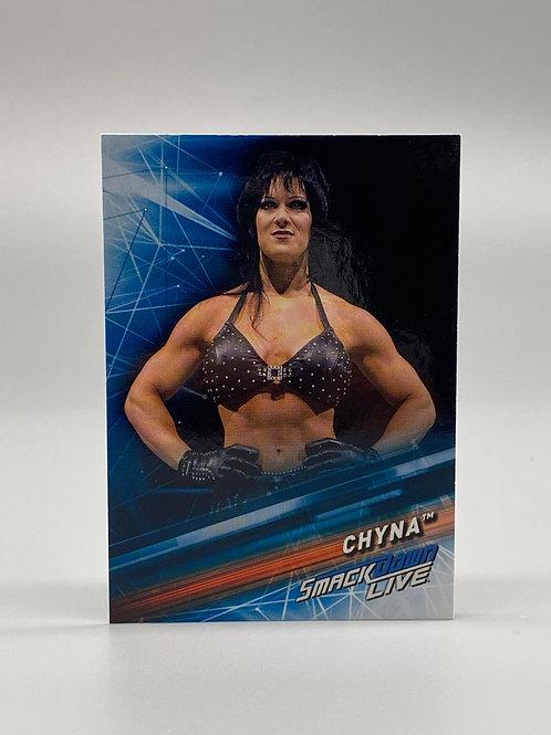 2019 Topps WWE Smackdown Live Chyna #69