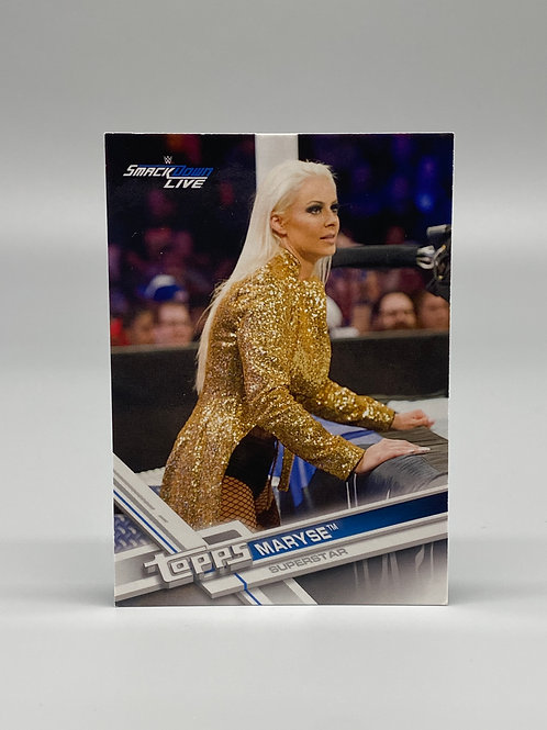 2017 Topps WWE Smackdown Live Maryse #50