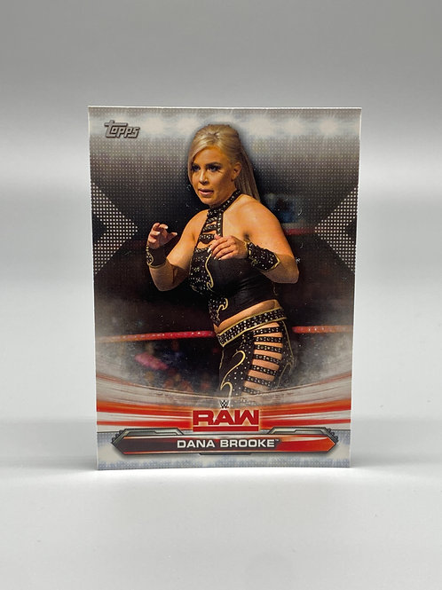 2019 Topps WWE Raw Dana Brooke #21