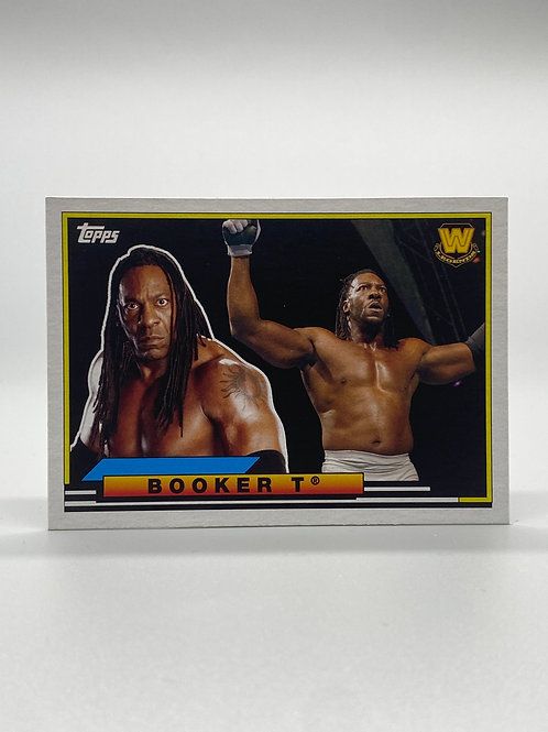 WWE Topps 2018 Heritage Big Legends Booker T #BL-5 NM