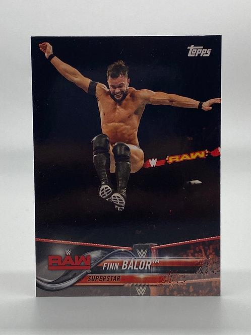WWE Topps 2018 Then Now Forever Finn Balor #131