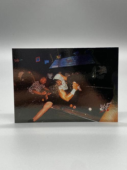 WWF Comic Images 2000 Al Snow vs Big Boss Man #67 NM Wrestling Trading Card