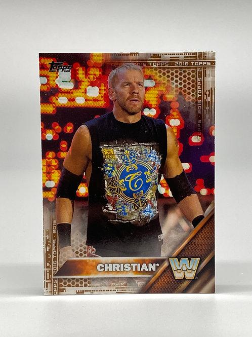 2016 Topps WWE Bronze Christian #59