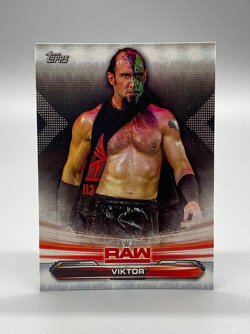 WWE Topps 2019 Raw Viktor #73 NM Wrestling Trading Card