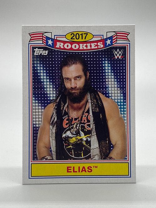 WWE Topps 2018 Heritage Top 10 Rookies Elias #TR-9