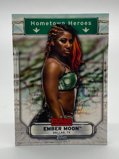 WWE Topps 2019 Hometown Heroes Ember Moon #HH-16 NM Wrestling Trading Card