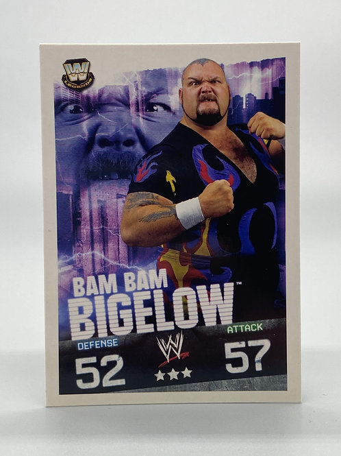 WWE Topps 2009 Slam Attax Evolution Bam Bam Bigelow NM Wrestling Trading Card