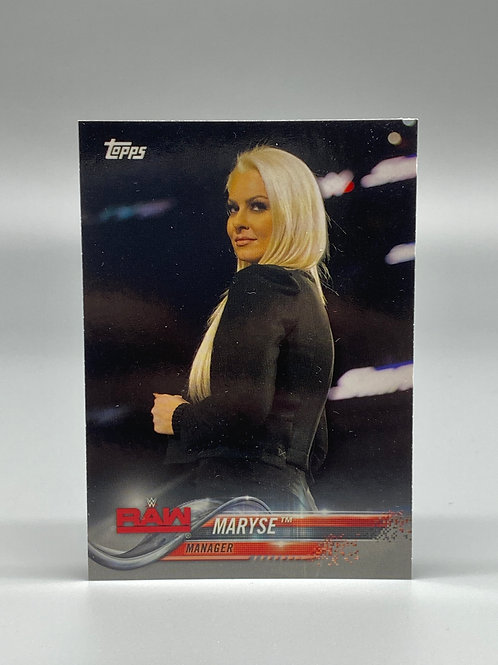 2018 Topps WWE Raw Maryse #54