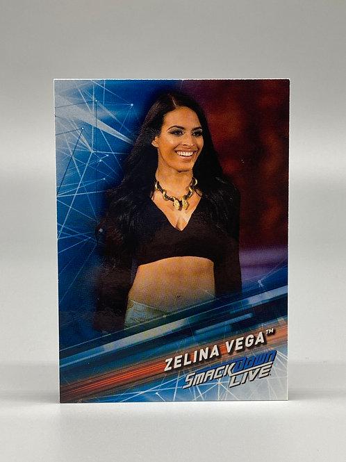 2019 Topps WWE Smackdown Live Zelina Vega #56