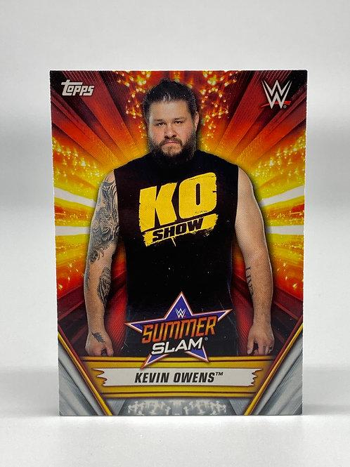 2019 Topps WWE Summerslam Kevin Owens #11