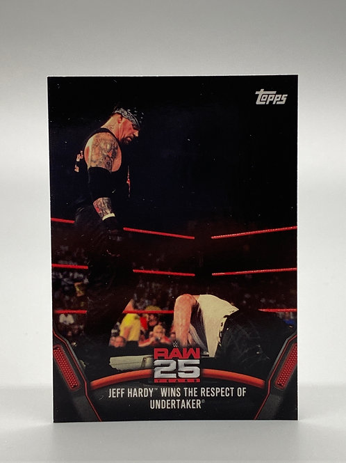WWE Topps 2018 Then Now Forever Jeff Hardy #RAW-19