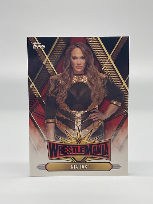 2019 Topps WWE Road to Wrestlemania Nia Jax #WM-13