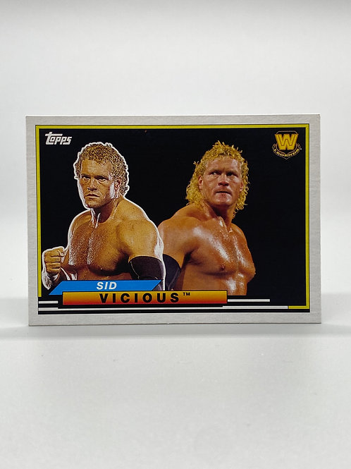 WWE Topps 2018 Heritage Big Legends Sid Vicious #BL-46 NM