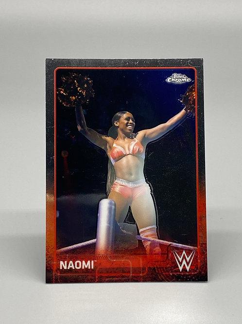 2015 Topps WWE Chrome Naomi #48