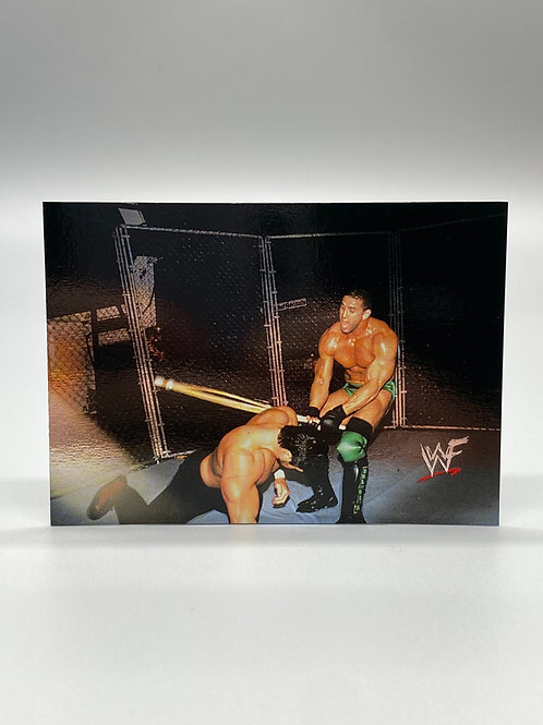 WWF Comic Images 2000 Ken Shamrock vs Steve Blackman #71 NM
