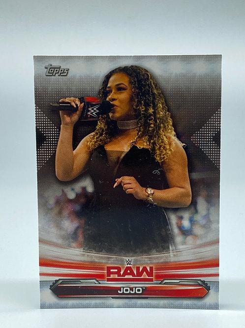2019 Topps WWE Raw Jojo #38