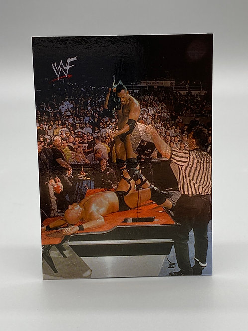 WWF Comic Images 2000 The Rock #10 NM Wrestling Trading Card