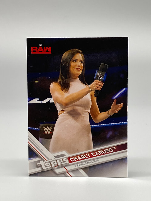 2017 Topps WWE Raw Charly Caruso #12
