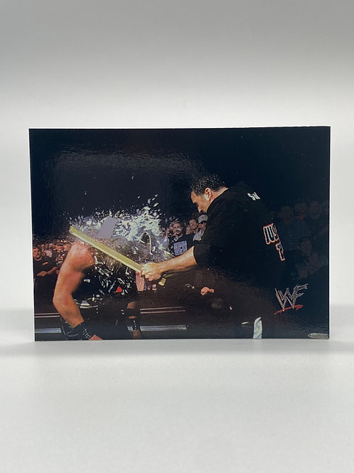WWF Comic Images 2000 Shane McMahon #12 NM Wrestling Trading Card