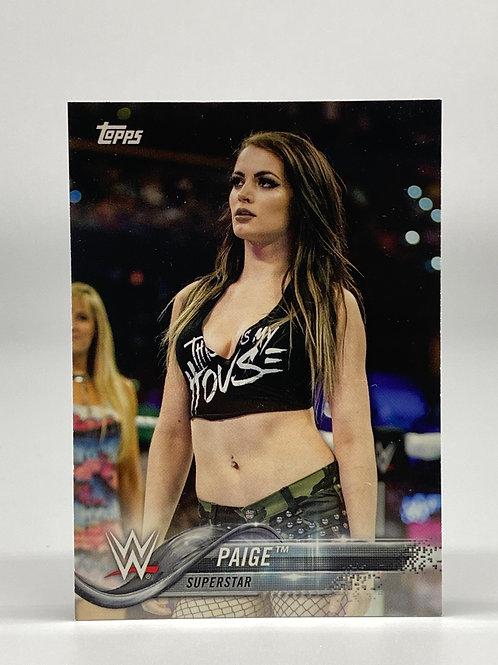 2018 Topps WWE Paige #71