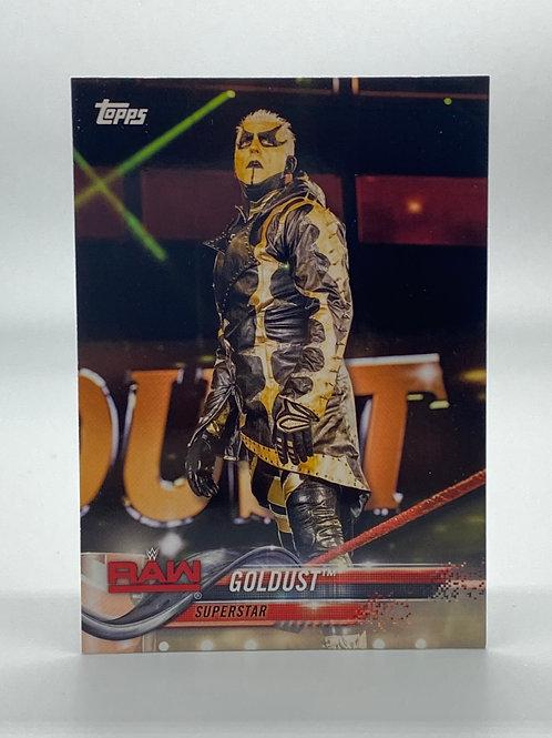 WWE Topps 2018 Then Now Forever Goldust #132