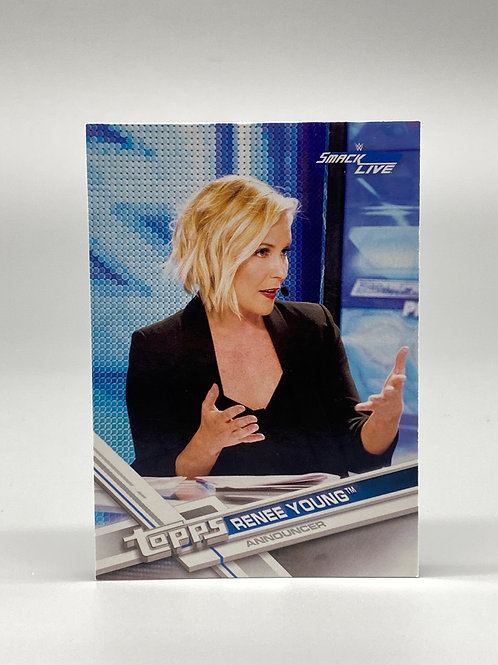 2017 Topps WWE Smackdown Live Renee Young #56