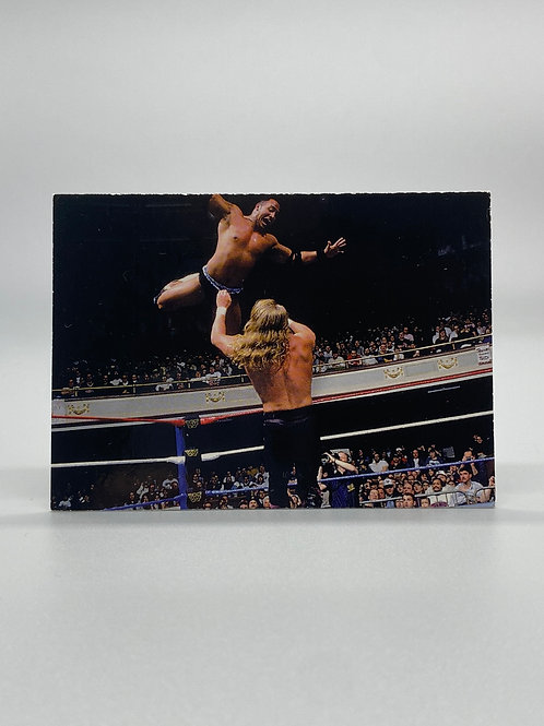 WWF Comic Images 2000 The Rock #63 NM Wrestling Trading Card