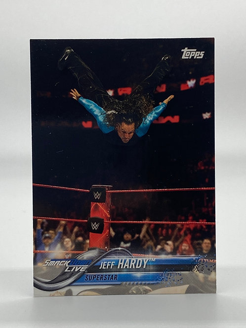 WWE Topps 2018 Then Now Forever Jeff Hardy #137