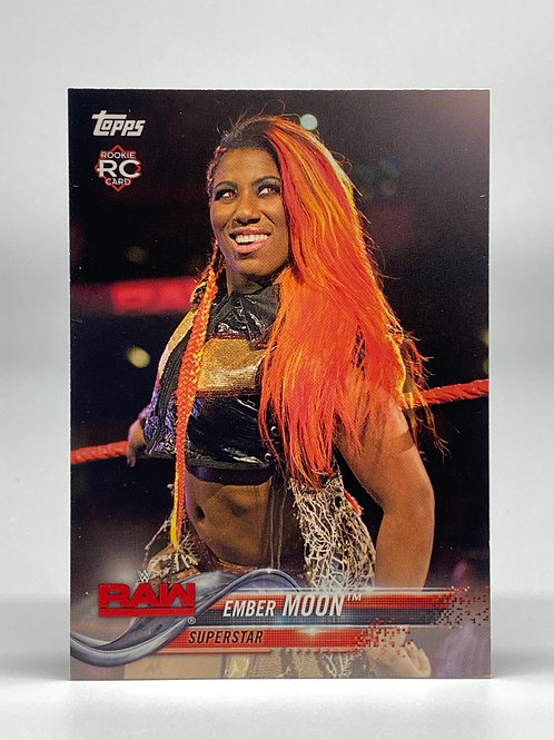 2018 Topps WWE Then Now Forever Ember Moon #127