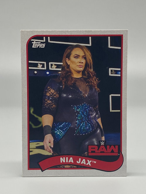 2018 Topps WWE Heritage Nia Jax #55